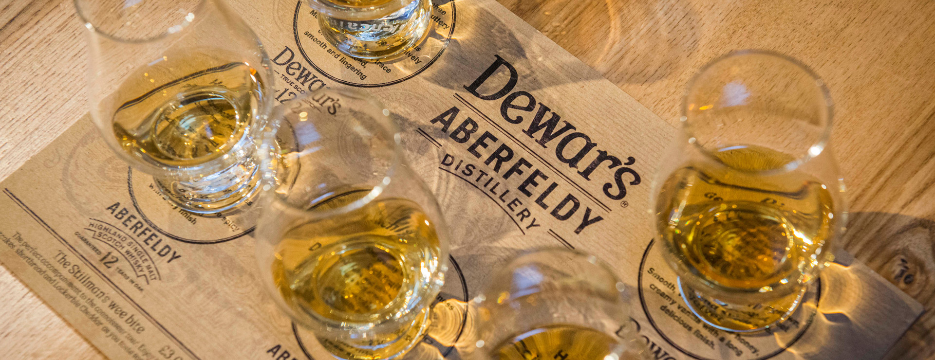 Connoisseur Tour - the ultimate whisky tasting experience