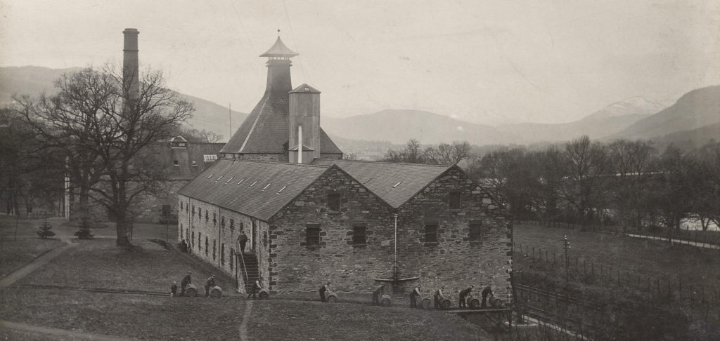 Aberfeldy Whisky Distillery in the 19th century