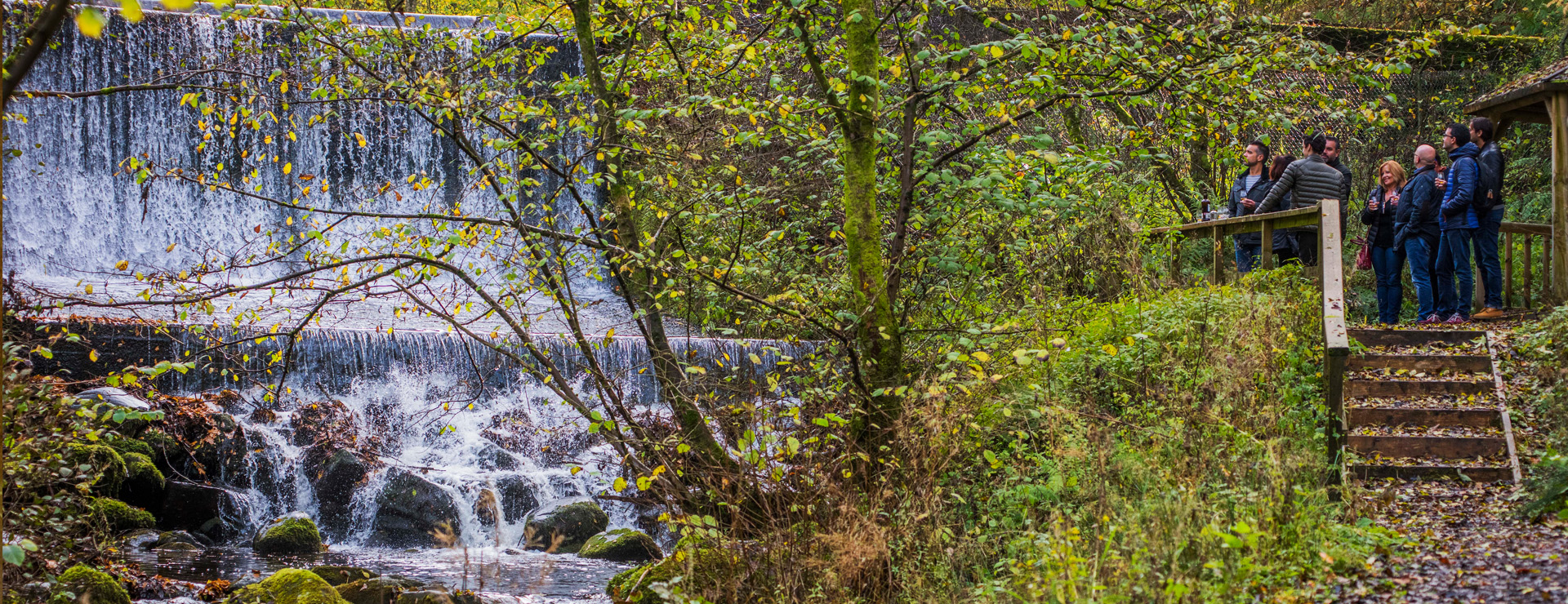 The Pitillie Burn - the water source for Aberfeldy Distillery