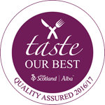 VisitScotland's Taste Our Best accreditation