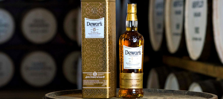 Dewar's 15 year old blended Scotch whisky - an unusual whisky available from the new Dewar's Aberfeldy Distillery online shop