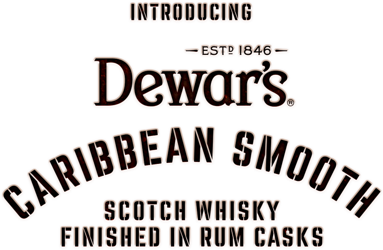 Dewar's Caribbean Smooth Scotch Whisky finished in rum casks