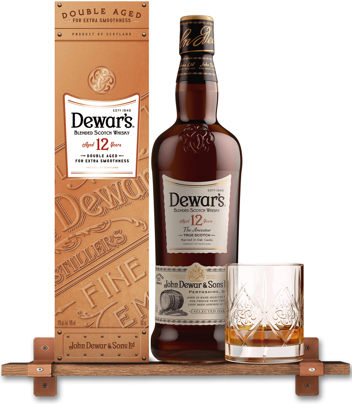 Dewars 12 Year Old Blended Whisky