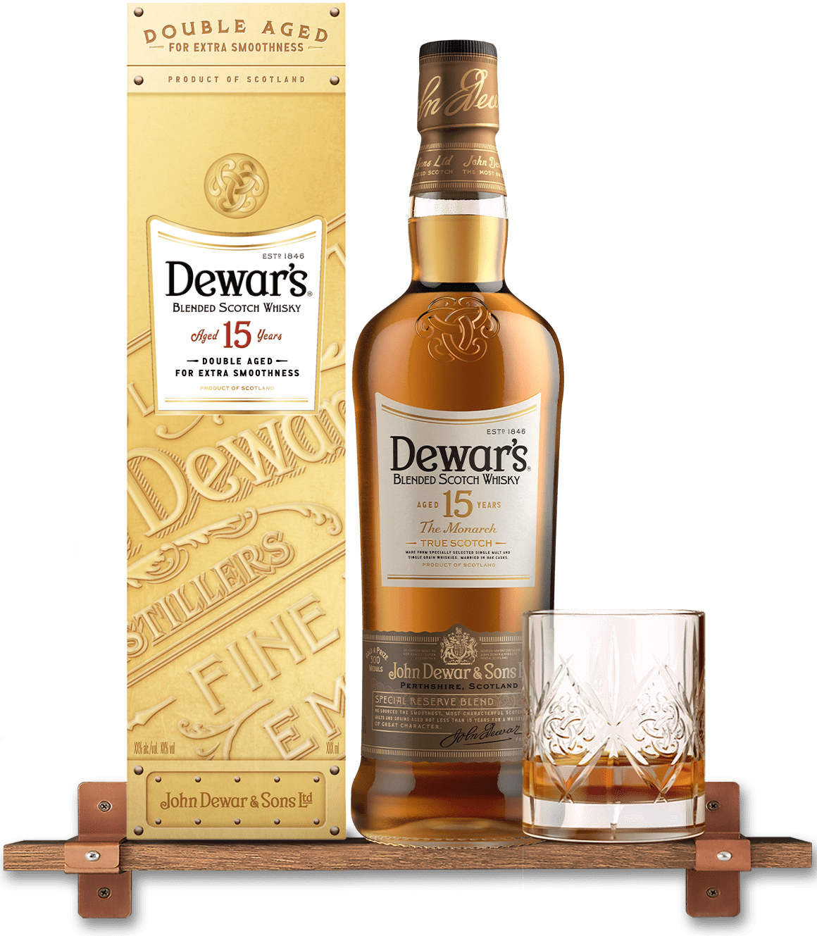 Dewars 15 Year Old Blended Whisky