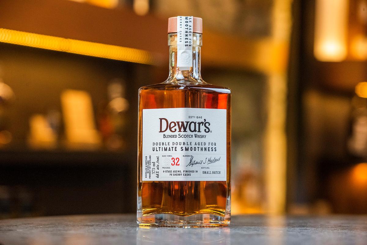 Double Double Dewar's whisky