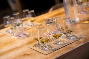 Image of whisky tasting glasses