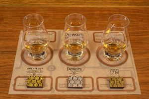 New whisky and chocolate tasting tour mat