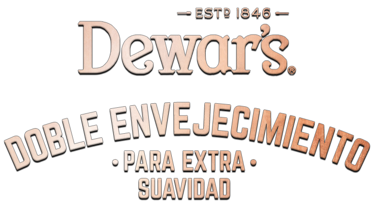 Dewar's Double ged for extra smoothness